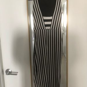 Zara Dresses - Zara Bodycon Striped Midi Dress